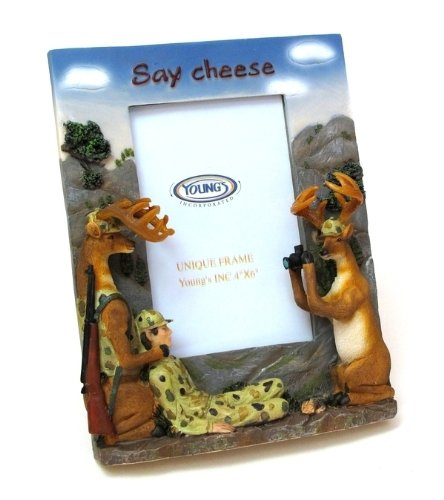 Say Cheese Photo Frame , Kid ,Toy , Hobbie , Nice Gift (Comical Deer Hunter)