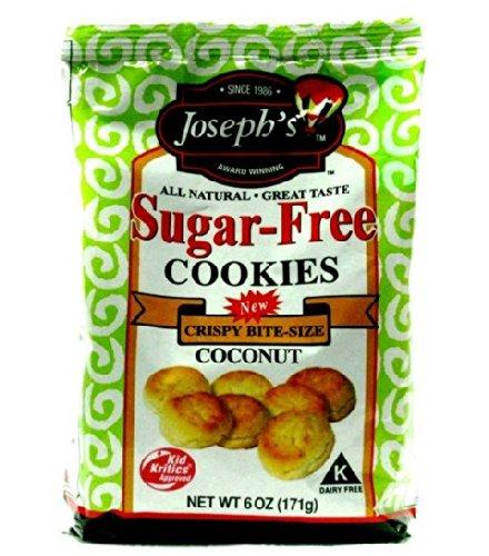 - Joseph 15097 Sugar Free Coconut Cookies, Pack of 15