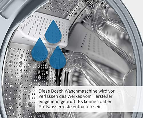 Bosch WAW28570 Serie 8 Waschmaschine Frontlader / A+++ / 196 kWh/Jahr / 1360 UpM / 8 kg / Weiß / Fleckenautomatik / Trommelreinigung mit Erinnerungsfunktion 6
