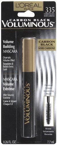 L'Oréal Paris Mascara volumineux, le noir de carbone, 0,26 once-Fluid