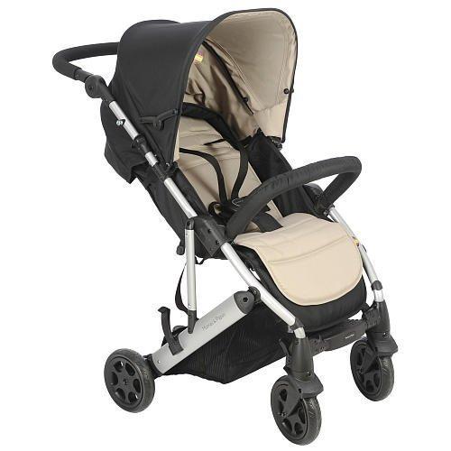 Mamas Papas Luna Stone Black Stroller