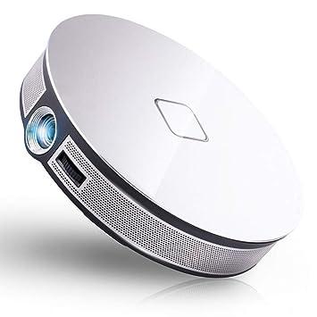 LYXLQ Proyector portátil, Proyector WiFi portátil HD Led ...