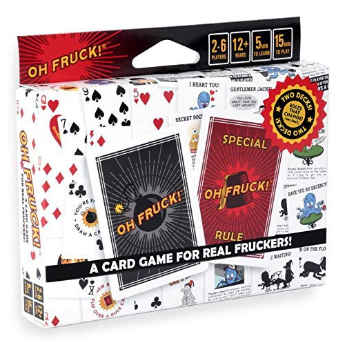 Oh Fruck! - A Raucous Card Game That Combines Strategy with Special Rules That Change Every Time You Play.