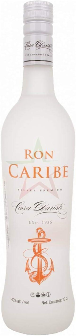 Ron Caribe Silver Premium Rum - 700 ml