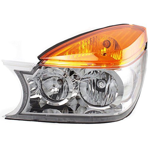 - Evan-Fischer EVA13572018844 Headlight for RENDEZVOUS 02-03 LH Assembly Halogen With Bulb(s) Driver Side