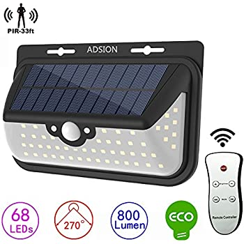 Super Bright Smd Led Solar Flood Light W Panel And Remote