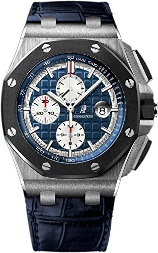 Audemars Piguet AP Royal Oak Offshore Chronograph 44mm Platinum Watch 26401PO.OO.A018CR.01