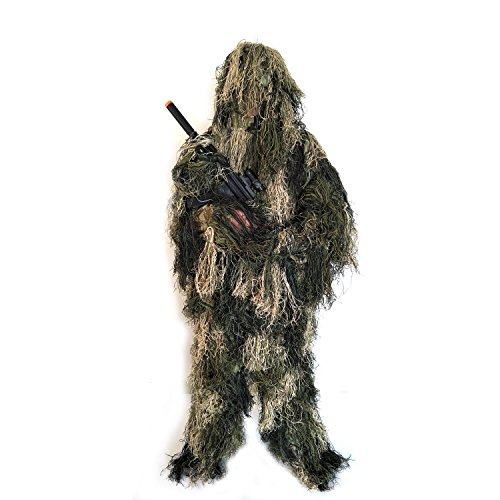 BESTHUNTINER Adult Ghillie Suit Camouflage Suit For Hunting
