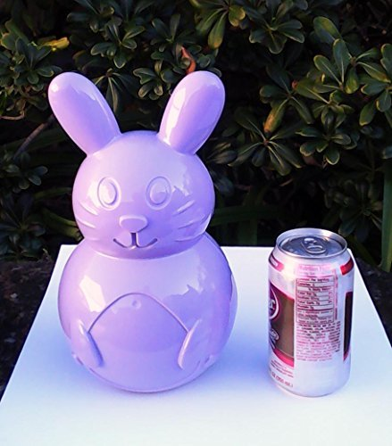 Easter Bunny Fillable Treat Container - Stands 10 Inches Tall
