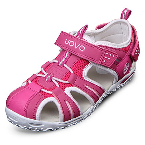 3698009a6 Doris Kids Closed Toe Strap Sport Sandals for Boy and Girl(Toddler Little  Kid Big Kid) - Buy Online in UAE.