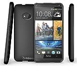 HTC One Case, Diztronic Matte Back Flexible TPU Case for HTC One (Model M7, 2013) - Matte Black - (ONE-DM-BLK)