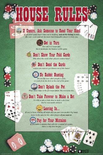 Nmr/aquarius House Rules Poker Poster