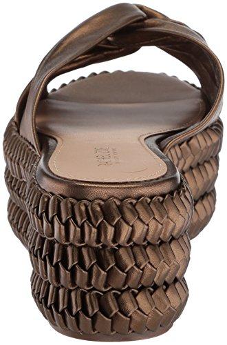 Polly Flatform Bronze Braid Zoe Women's Dark Platform Rachel aqn1zR