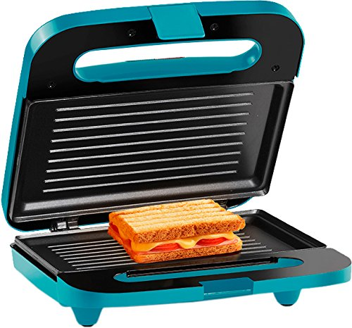Holstein Housewares HH-09125003E 2 Section Sandwich Grill - Teal