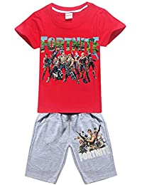 SERAPHY Fortnite Children's Clothing with T-Shirt und Shorts Wonderful Gift