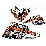 Senge Graphics 2003-2006 Arctic Cat Firecat/Sabercat Team Arctic Orange Wrap