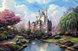 Coeus Wooden Puzzles-a Series of Famouse Works - The Dream Castle,educational Games for Kids / Puzzles for Adults,1500 Pieces Jigsaw Puzzle