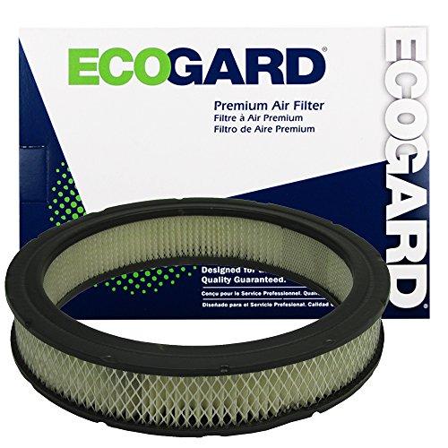 ECOGARD XA90 Premium Engine Air Filter Fits Ford F-150, F-250, F-100, Mustang, F-350, Granada, Pinto, Bronco / Jeep Cherokee / Ford Maverick, Fairmont / Mercury Bobcat, Capri, Comet, Monarch, Zephyr ()