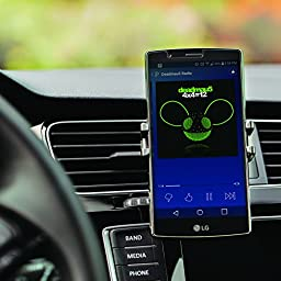 Joby GripTight Auto Vent Clip - Quickly and Discreetly Attach Smartphone Between 2.1-2.8 Inch (54-72mm) Wide To The Vents In Any Car