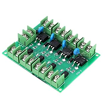Electronic Components & Supplies Mos Fet 4 Channels Pulse Trigger Switch Controller Pwm Input Steady For Motor Led
