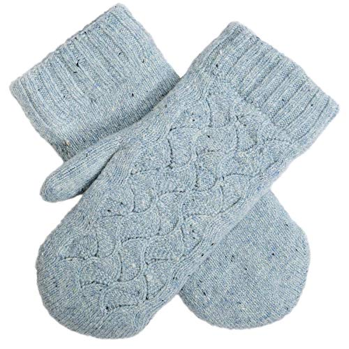 Dents Lace Knit Mittens -...