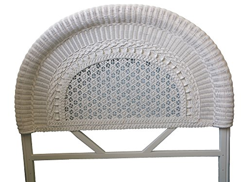 Spice Islands Round Back Headboard, Twin, White by Spice Islands