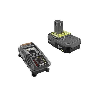 Amazon.com: Ryobi - Batería compacta de 18 V OnePlus+ de ...