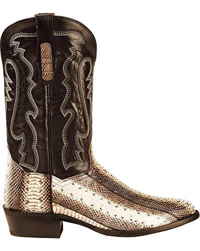 Dan Post Mens Två Ton Vatten Orm Cowboy Boot Rund Tå - Dps285 Naturligt