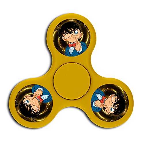 Feel Your Heart_Conan High Speed Fingertip Gyro Fidget Spinning Toys For Kids Adults Anxiety -