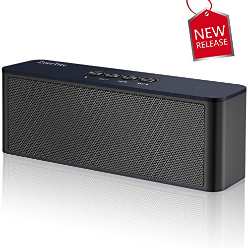 Bluetooth Speaker, ZoeeTree S5 Portable Wireless Speakers with Loud Clear Sound and Rich Bass, Perfect Outdoor Stereo Speaker Built-In Mic, Bluetooth 4.2 and TF Card Slot by ZoeeTree