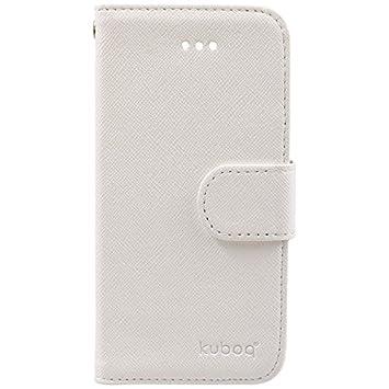 10e6d697b6 Amazon   OWLTECH iPhone SE / 5s / 5用 kuboq 合皮 手帳型ケース ...