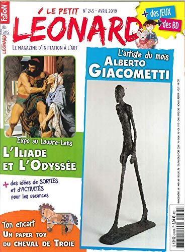 Le Petit Léonard N 245 Alberto Giacometti - Avril 2019
