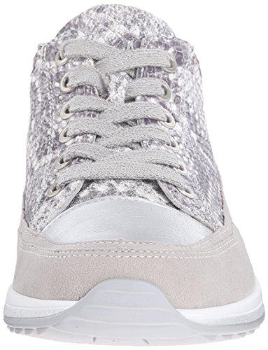 Snake Grey ara Sneaker Hermione Women Fashion Taupe zqg10vw