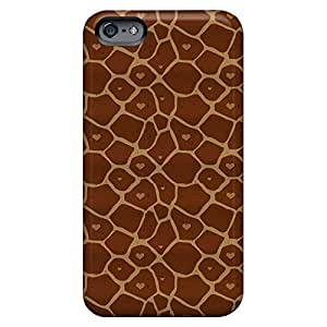 iphone 4 /4s PC cell phone carrying covers Snap On Hard Cases Covers case hearty giraffe print
