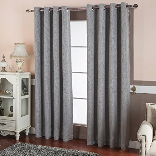 best-dreamcity-room-darkening-thermal-insulated-solid-grommet-textured-linen-blackout-curtains-for-b