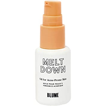 Amazon Com Blume Meltdown Acne Treatment For All Skin Types Reduces Acne Scarring Inflammation All Natural Ingredients Black Cumin Seed Oil Rosehip Oil Tea Tree Oil And Lavender