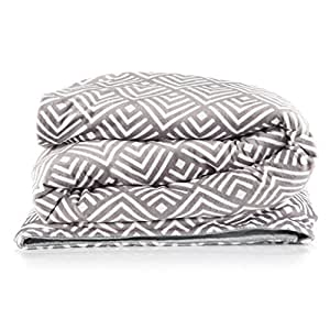 Amazon Com Adult Weighted Blanket With Duvet Cover Large