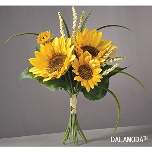 Silk Sunflowers - 7