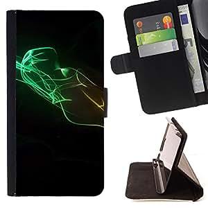 BullDog Case - FOR/Apple Iphone 6 PLUS 5.5 / - / Design Minimalist Colors /- Monedero de cuero de la PU Llevar cubierta de la caja con el ID Credit Card Slots Flip funda de cuer