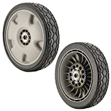 Honda 42710-VH7-010ZA PK2 Gray 9' Lawn Mower Rear Wheels