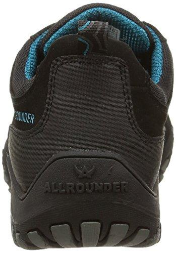 Allrounder by Mephisto P2003760, Scarpe Outdoor Multisport Donna Nero (Black/Black Rubber 1/G.nubuk 84)