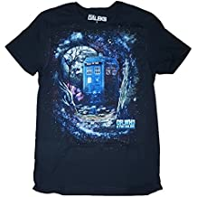 Dr. Who and the Daleks Black Graphic T-Shirt