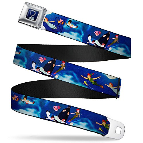 Buckle-Down Seatbelt Belt - Peter Pan Flying Scene - 1.0