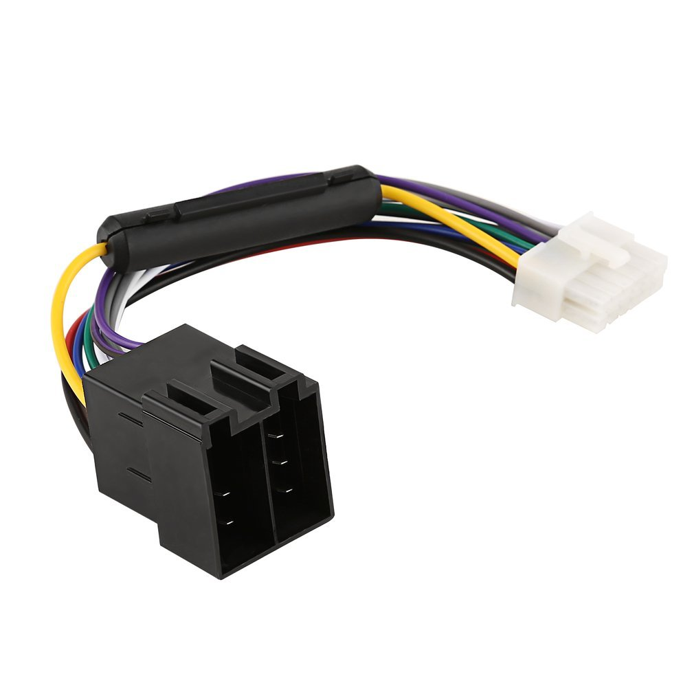 AERZETIX 10x Conectores Caja de conexion 6 vias para terminales electricos Macho 6.3mm C11667