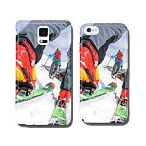 ski touring on the road cell phone cover case Samsung S6