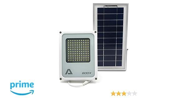 ALFA 600X reflector de seguridad solar, 3 niveles de potencia, cable de 15 pies: Amazon.es: Iluminación