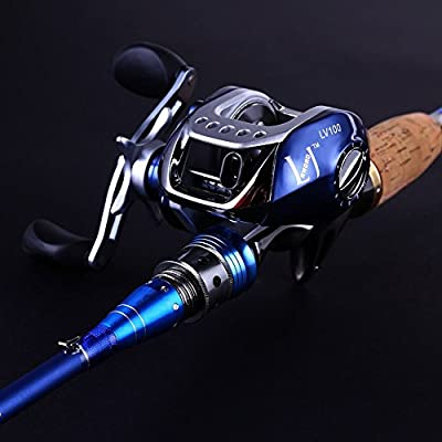 Sougayilang Spinning Baitcasting Fishing Rod with Fishing Reel Combos Left/right from Sougayilang