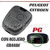 Carcasa de llave con telemando para Peugeot Expert Partner ...