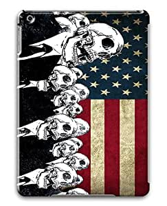 IMARTCASE Apple iPad Air Case, Skulls Suit Grunge Artwork American Flag PC Hard Plastic Case for Apple iPad Air by lolosakes by lolosakes