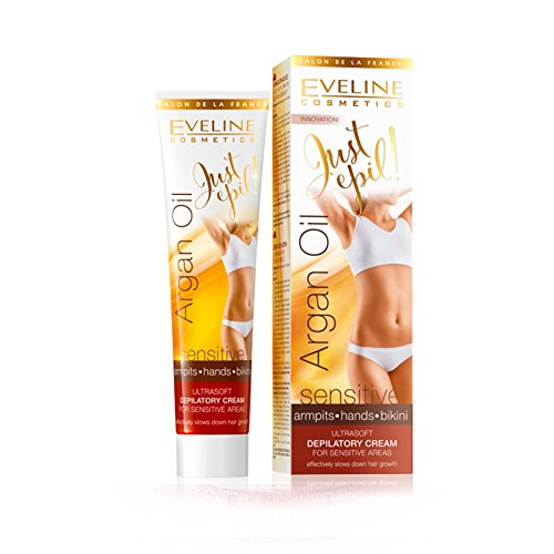 Eveline Justepil Argan Oil 9in1 Ultra Soft Hair Removal Cream 125ml